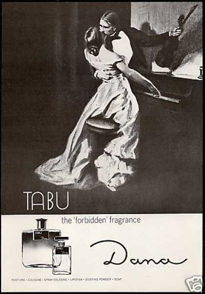 dana tabu perfume forbidden fragrance 1969 via buy at ebay