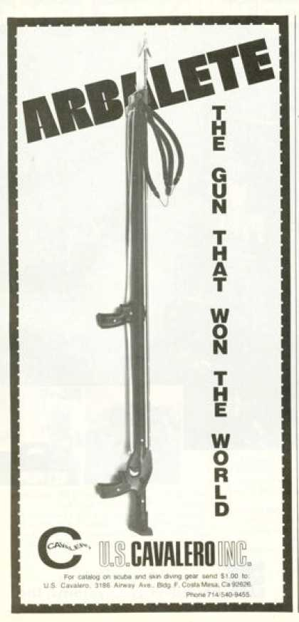 Cavalero Arbalete Speargun (1977)