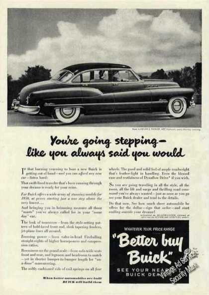 "Buick Super ""You're Going Stepping"" (1950)"