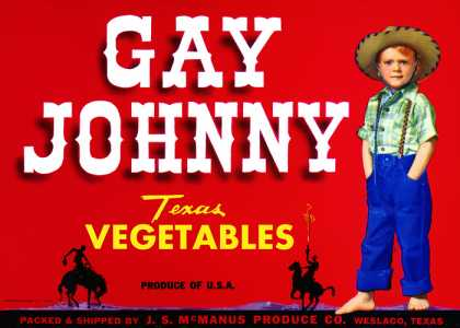 Gay Johnny Vegetables, c. s (1950)