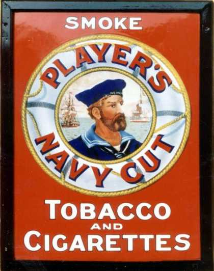 Player&#8217;s Navy Cut Tobacco &amp; Cigarettes