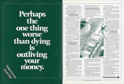 """Worse Than Dying"" Prudential Securities (1992)"