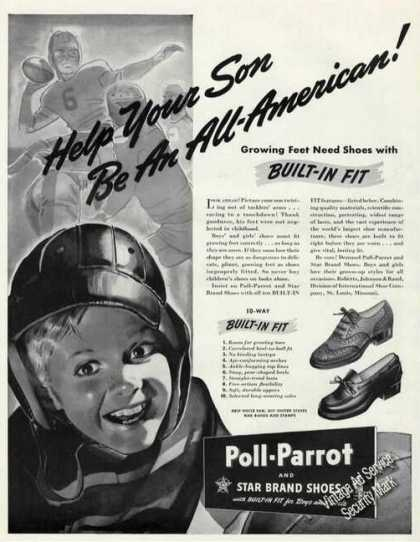 Poll-parrot Shoes Help Your Son Be All-american (1942)