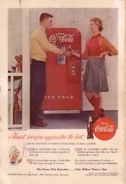 Coke Soda Machine (1955)