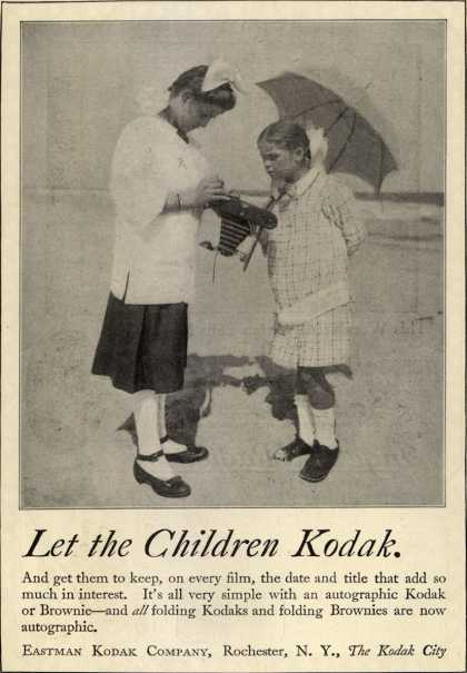 Kodak – Let the Children Kodak (1919)