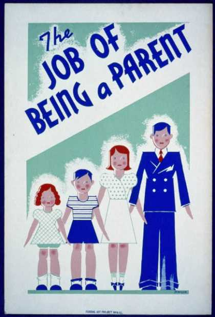 The job of being a parent / Kreger. (1936)