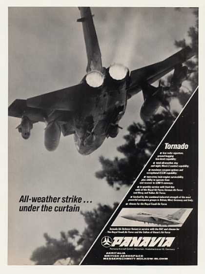 Panavia Tornado All-Weather Aircraft Photo (1989)