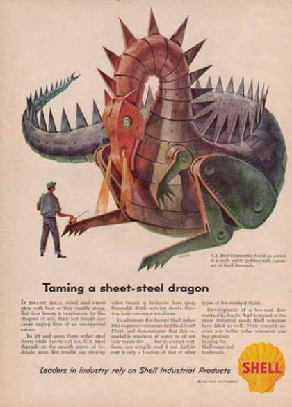 Shell Company – Taming a Steel Dragon (1958)
