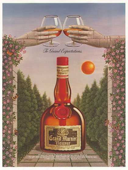 Grand Marnier Liqueur Toast Grand Expectations (1988)