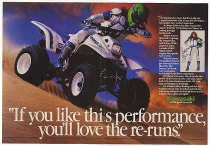 Kawasaki KSF250 Mojave ATV Photo (1986)