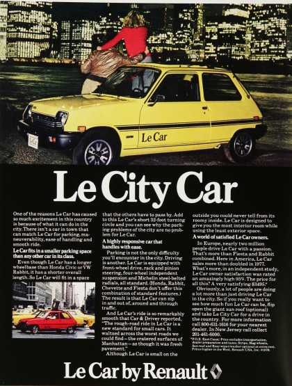 Le Car by Renault