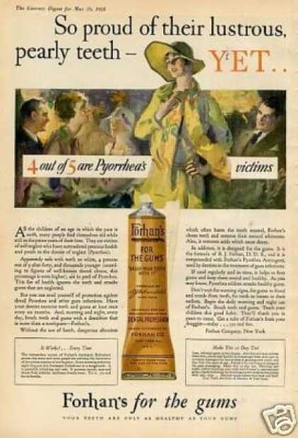 Forhan's Dental Cream (1928)