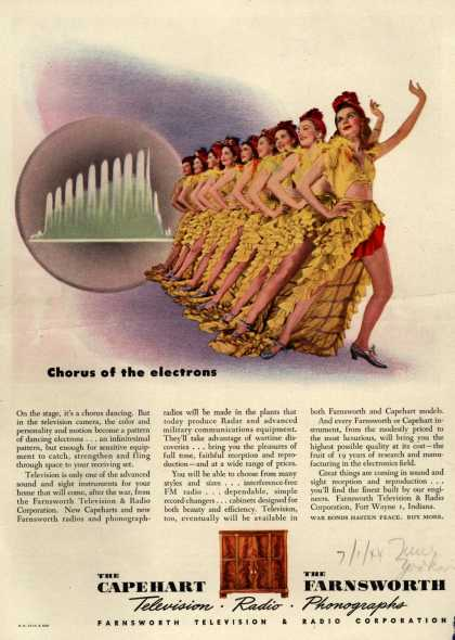 Farnsworth Television and Radio Corporation's Television – Chorus of the electrons (1944)