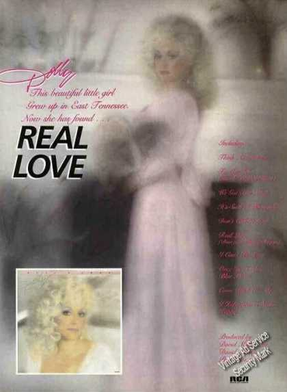 "Dolly Parton Photos ""Real Love"" Album (1985)"