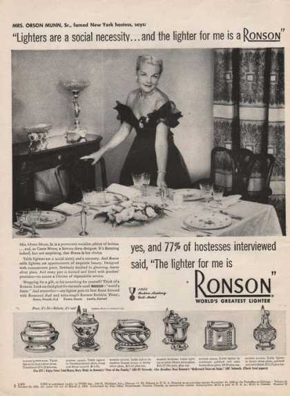 Ronson Worlds Greatest Lighter (1951)