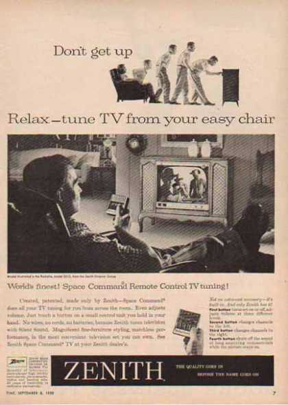 Zenith Television – Space Command Remote Control (1958)