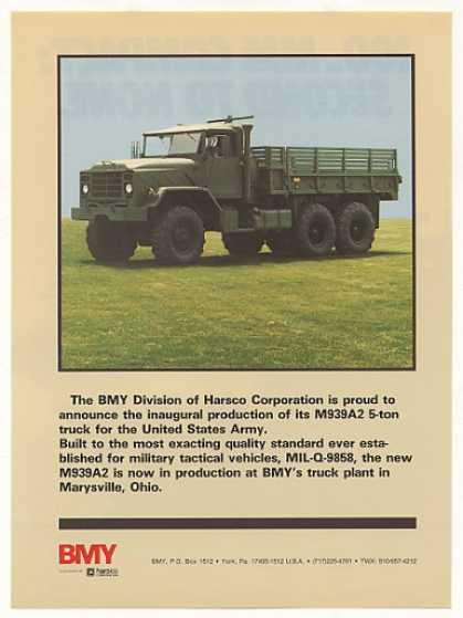 US Army BMY M939A2 5-Ton Truck Photo (1987)