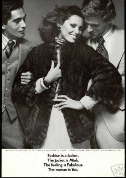 Mink International Fur Jacket Canada Photo (1974)