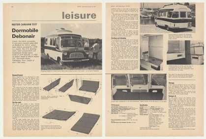 Dormobile Debonair Motor Caravan UK Test Article (1967)