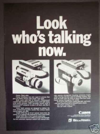 Canon 87cs 86cs Super 8 Power Zoom Movie Camera (1969)