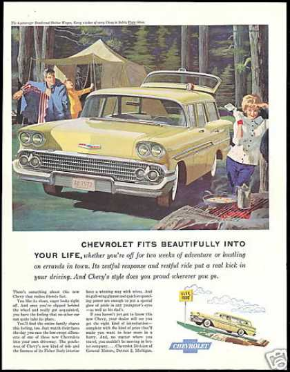 Chevrolet Brookwood Station Wagon Camping (1958)