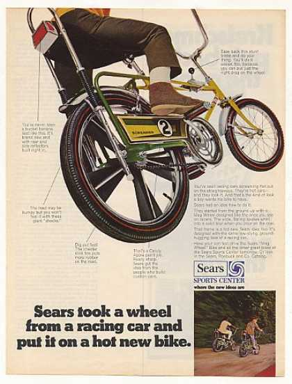 Sears Mag Wheel Screamer Bike Bicycle (1969)