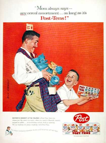 Post Cereals Variety Pack (1957)