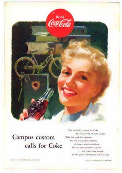 Coke – College Campus Custom Calls for Coke (1954)