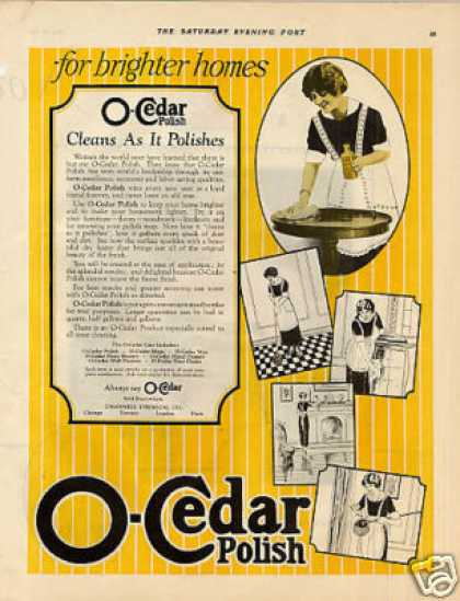 O-cedar Polish Color (1923)