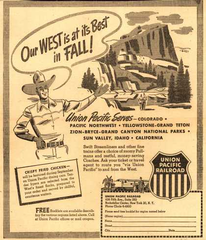 Union Pacific Railroad's Union Pacific – Our West is at its Best in Fall (1950)