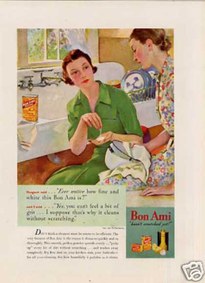 Bon Ami Cleanser Color (1935)
