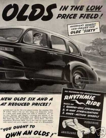 Oldsmobile Cars Ad 2 Page (1939)