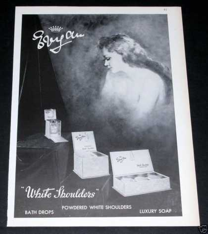 White Shoulders, Luxury Soap (1964)