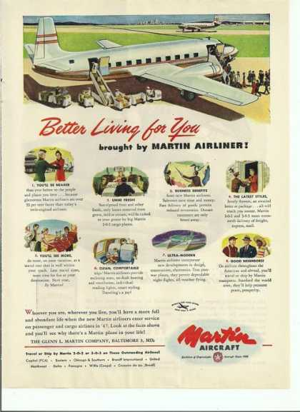 Martin Aircraft Living for You (1946)