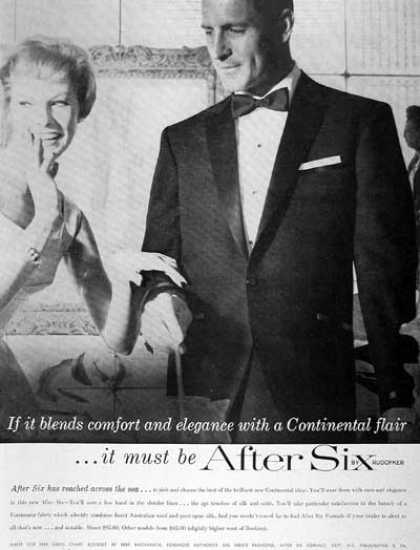 After Six Tuxedo Rental (1959)