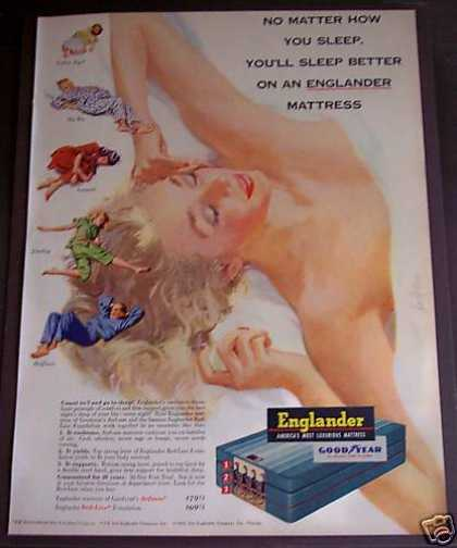 Englander Goodyear Mattress (1953)