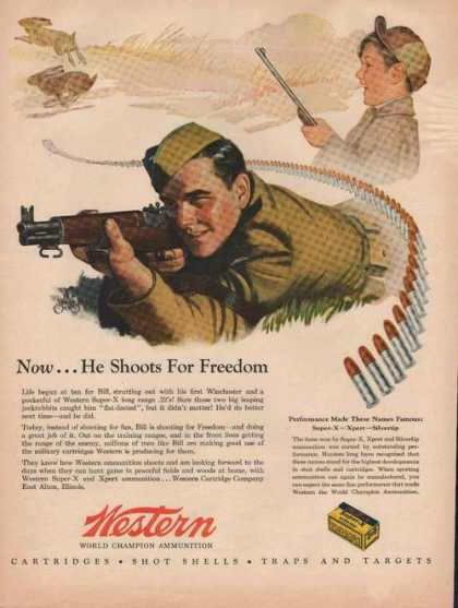 Western World Champion Ammunition (1944)