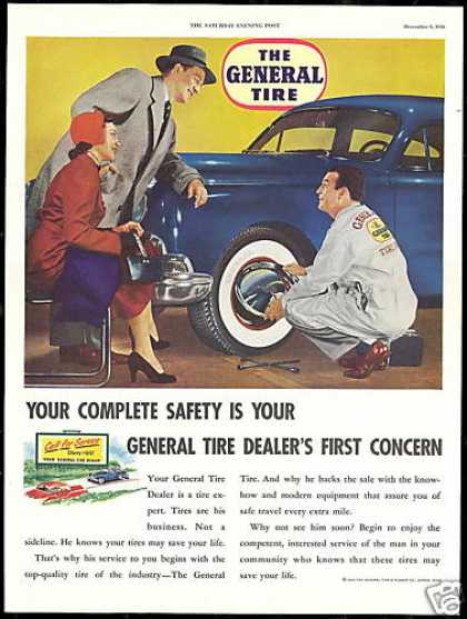 General Tire Dealer Photo Vintage (1950)