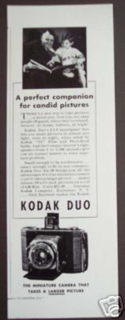 Kodak Duo Miniature Camera Photo (1935)