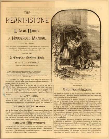 B. F. Johnson &amp; Co.&#8217;s The Hearthstone Book &#8211; The Hearthstone, or Life at Home, A Household Manual