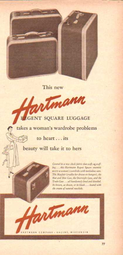 Hartmann Luggage – Regent Square (1948)