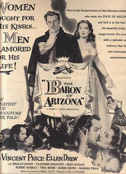 The Baron of Arizona (True Movie) (1950)