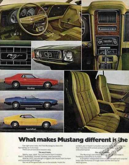 Ford Mustang Photos Golf Theme Nice 2 Pg Car (1973)