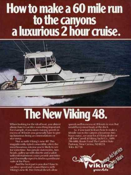 The New Viking 48 Boat Photo (1985)
