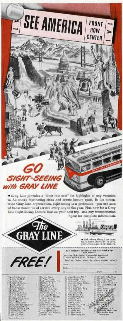 Go Sight-seeing With Gray Line Travel (1949)