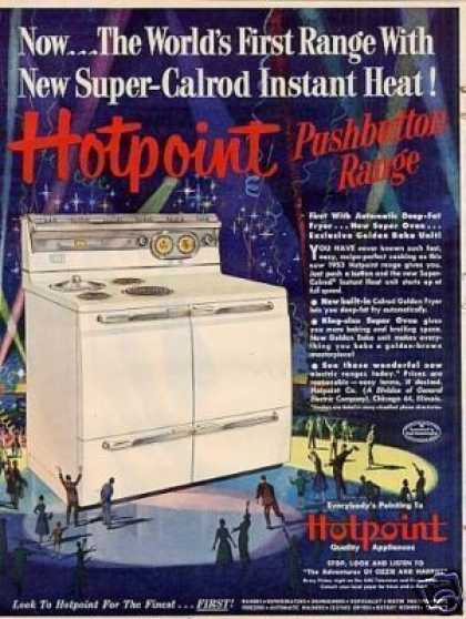 Hotpoint Pushbutton Range (1952)