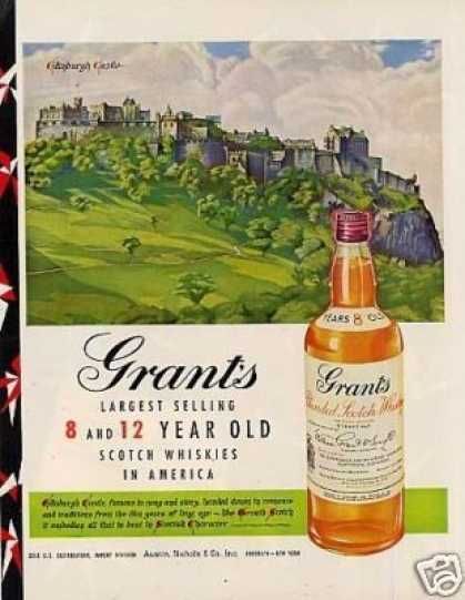 Grant's Scotch Whiskey (1950)