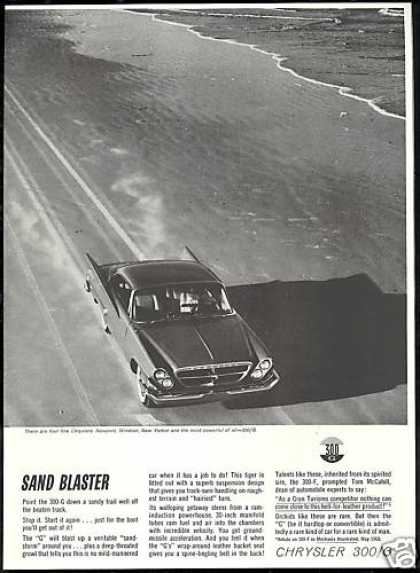 Chrysler 300G 300-G Car Photo Print Vintage (1961)