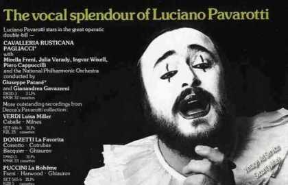 Luciano Pavarotti Photo Uk Music (1979)