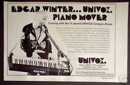 Edgar Winter Photo Compac-piano (1974)